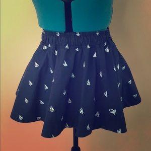 Navy Blue Gilly Hicks Skirt